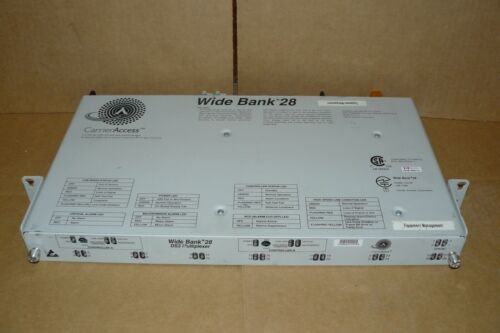 Carrier Access Wide Bank 28 DS3 Multiplexer Widebank 44.736 Mbps