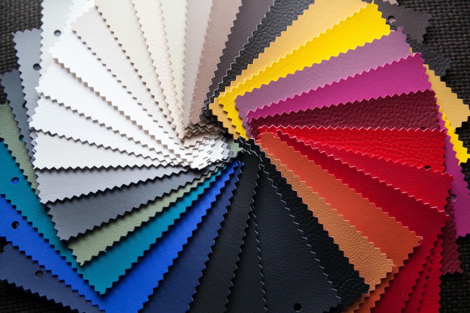 Kunstleder DOLARO Leder Sitzbezug Möbel Textil Meterware Polster Stoff PVC 140
