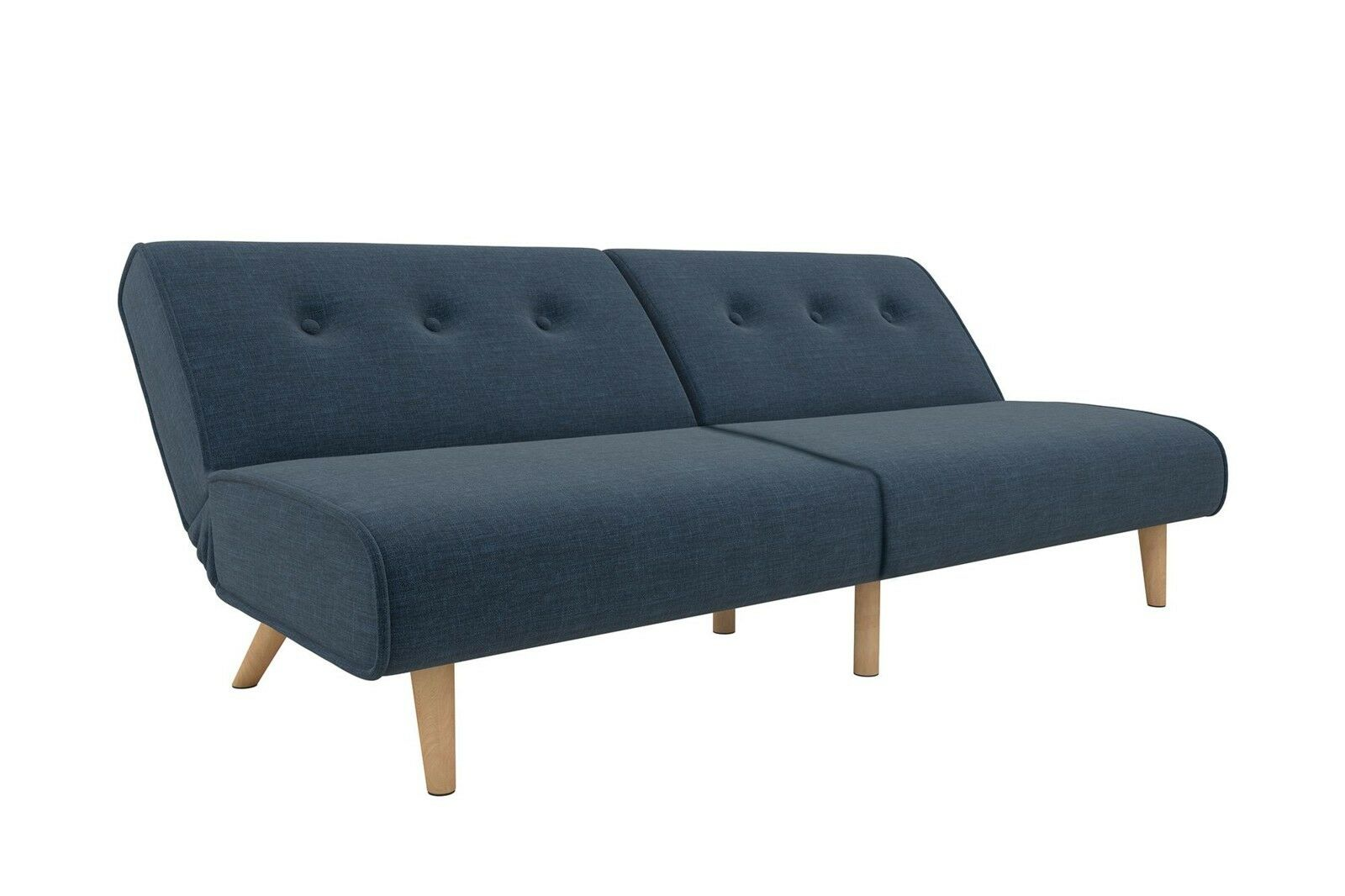 Novogratz Palm Springs Convertible Sofa Sleeper in Rich Line