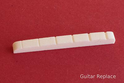 Cejuela Hueso 42x3x5 Guitarra Electrica Bone Nut Telecaster Stratocaster