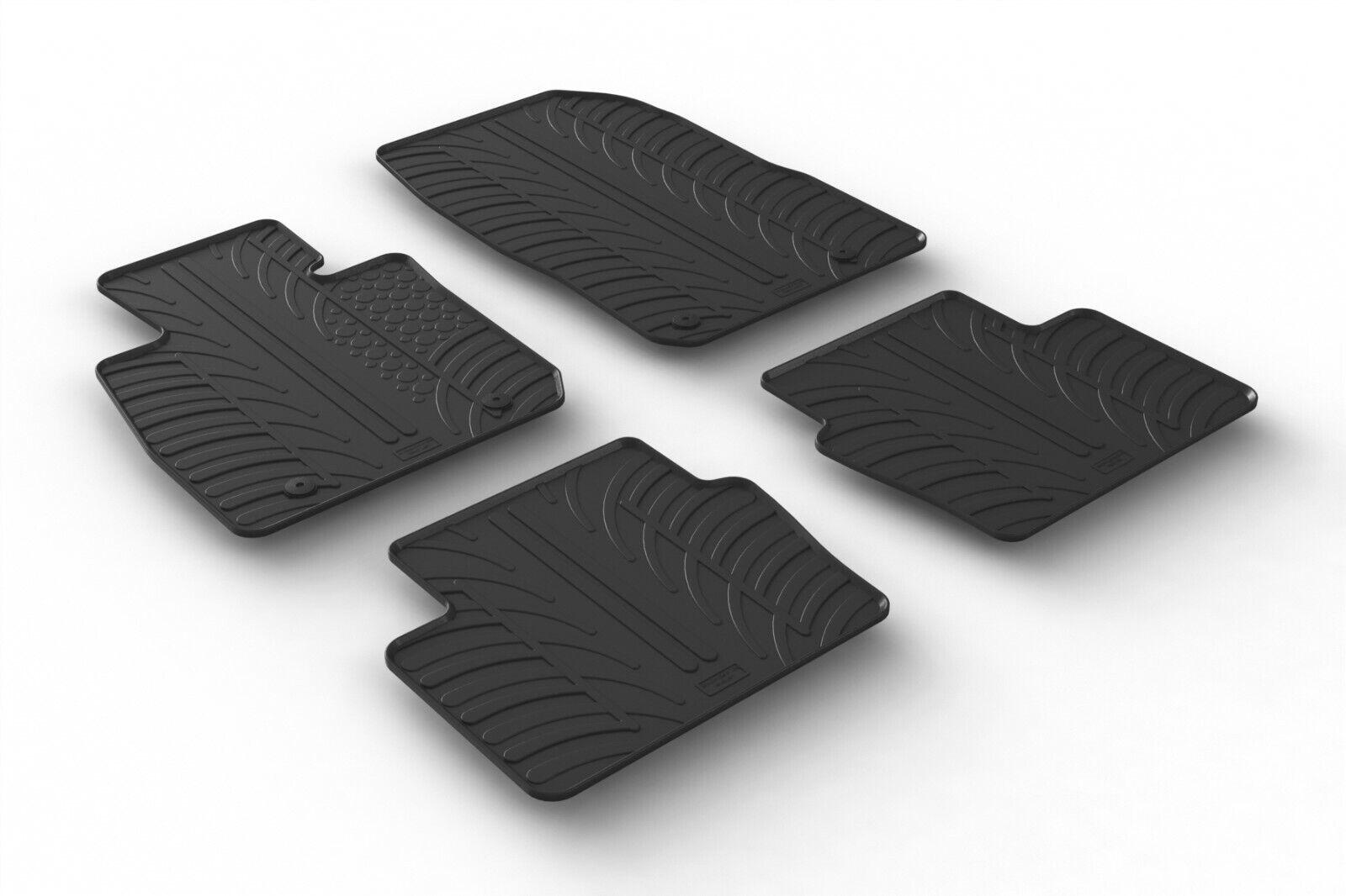 Design Passform Gummimatten Gummi Fußmatten für Mazda CX3 ab Bj. 01.2015
