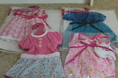 4 Sets of Doll Clothes Lot for 18'' inch American Girl Doll Outfit US Seller
