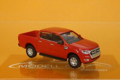 Busch 52801 Ford Ranger Pick-up rot 1:87