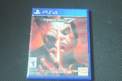 Tekken 7: Day 1 Edition (Sony PlayStation 4, 2017) Excellent Condition