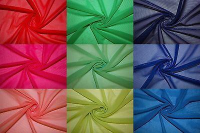 Power Mesh 4 Way Stretch Nylon Lycra Spandex Dancewear Swimwear Fabric (Lycra Swimsuit Fabric)