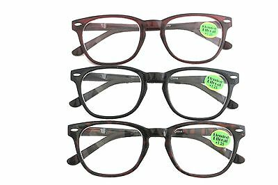 BLENDED BIFOCAL Reading Glasses Cheaters Specs Spex--Spring Hinge at (Glasses Specs)