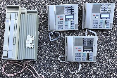 Nortel Meridian Norstar Plus Compact Ics W 3x M7310 Phones