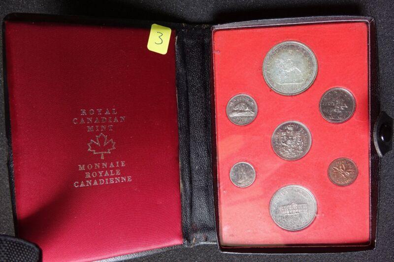 1973 Canadian Prestige Coin Set Double Dollar Specimen