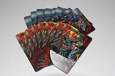 2015 Marvel 3D Legendary DBG Playable 2x10-card Henchman Decks Circus/Slayer