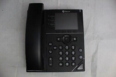 Factory Reset Polycom Vvx350 6-line Voip Business Office Phone No Stand
