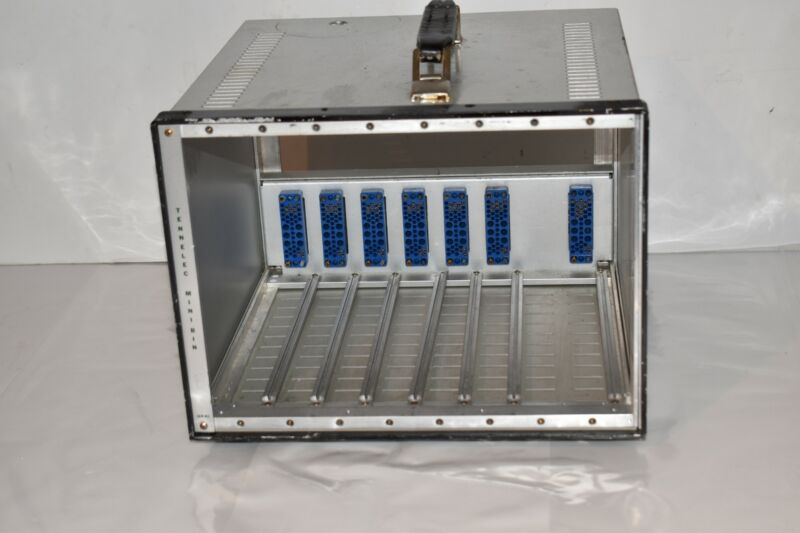 TENNELEC OXFORD MINIBIN MINI BIN Crate Chassis Model MB-1 (IG66)