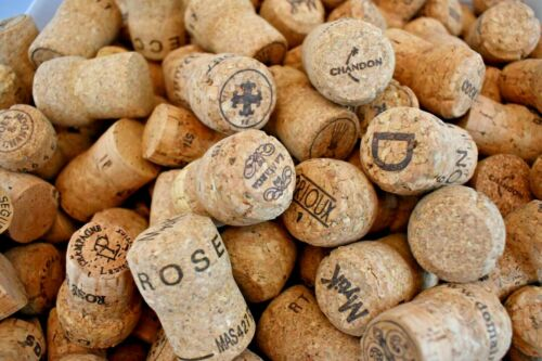 Natural Used CHAMPAGNE Sparkling Wine Corks Lots 10 20 30 40 50 Crafting Art