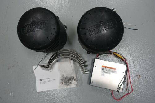 Federal Signal Rumbler Kit, 2 Speakers