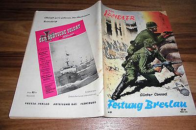 LANDSER 27 -- FESTUNG BRESLAU // Original-Druck aus den 1960ern
