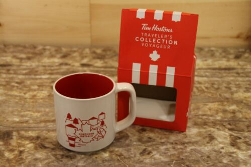 TIM HORTONS 2019 Limited Edition Coffee Mug - Northern Ontario New In Gift Box