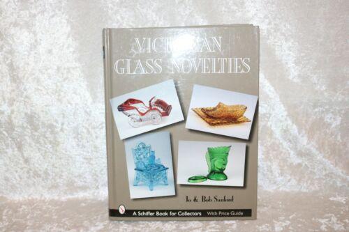 TS  Victorian Glass Novelties book by Sanford!