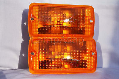 Front Corner Turn Signal Parking Light Lamps One Pair Fit 2001-2006 Wrangler
