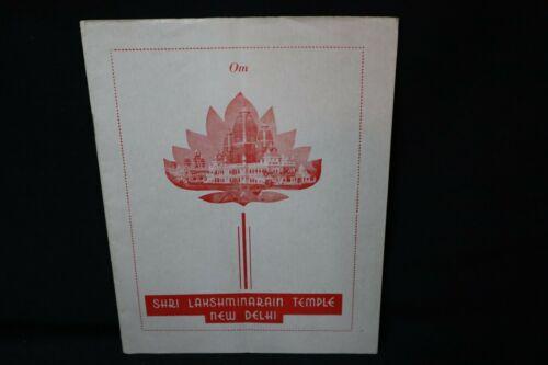 Shri Lakshminarain Temple, New Delhi~20 page souvenir Booklet