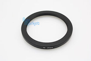 Adapter-Filter-Lens-Step-Down-Ring-58-49mm-58mm-to-49mm