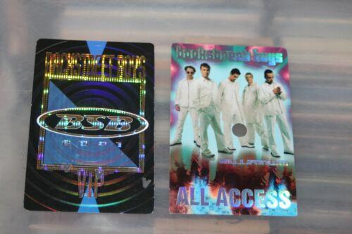 Backstreet Boys   - 2x Backstage Pass   - FREE POSTAGE -