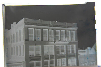 1  B W Press Photo Negative Documenting Building Offices Social Security T1071