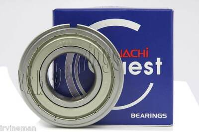 6019zzenr Nachi Bearing Shielded C3 Snap Ring Japan 95x145x24 Ball 9634