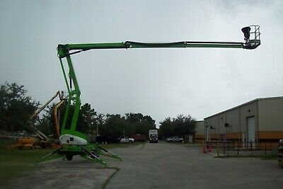 Nifty Tm64 69 Towable Boom Lift 40 Outreachdrive From Basket Kubota Diesel