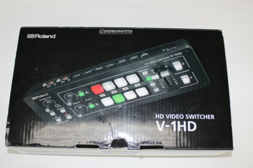 Roland V-1HD HD Video Switcher 4 HDMI Input with Power supply-NICE