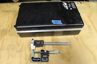 Fowler Nsk Digital Caliper And Digital Mic Kit