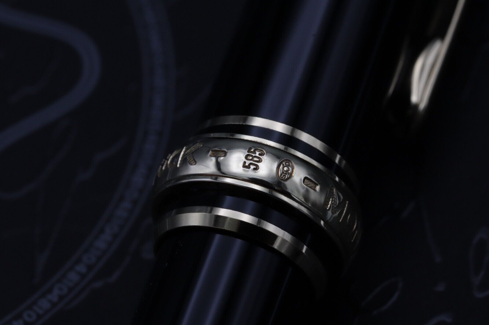 Montblanc Meisterstuck 144 Classique 'Wedding Pen' Fountain Pen 4