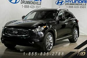 INFINITI FX50 2009 + AWD + DVD + NAVI + LANE ASSIST + DETECTEURS