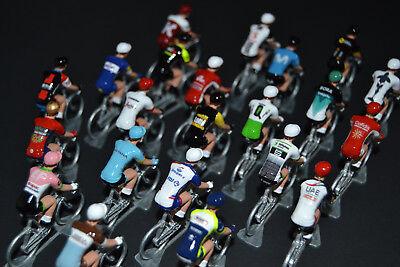 Petit cycliste Figurine Cycling figure Trek Segafredo 2017