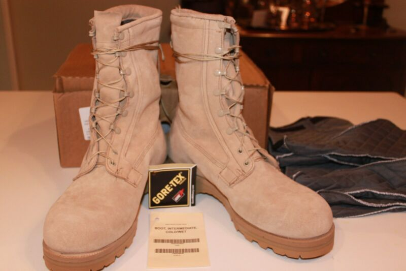 Military Surplus,Wellco,Intermediate Cold / Wet Weather Boots,Gortex,New, 14 N