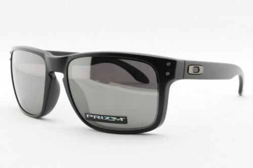 Oakley Holbrook POLARIZED Sunglasses OO9102-D655 Matte Black W/ PRIZM Black Lens