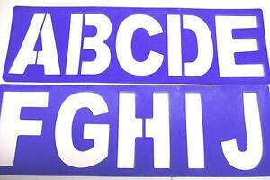 large letter templates