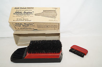 Ideal Duplex Brush Dust-Brush a.Gerlach 50iger Years Original Package