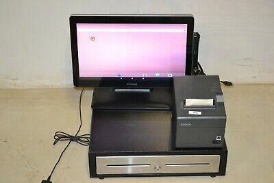 Toast Elo 15 Pos Terminal Bundle Tablet Printer Cash Drawer Till No Key Sale