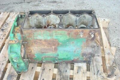 Oliver 1250 Gas Tractor Engine Block
