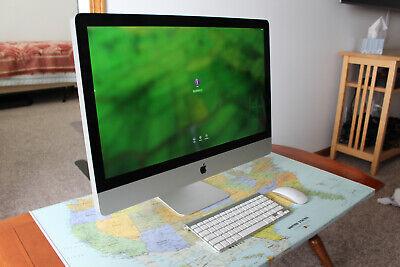 iMac 27-inch mid 2011, 3.1 Ghz i5,  Radeon HD 6970M, 4 GB RAM w Peripherals