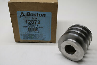 Boston Steel Worm Gear 12872 G1086k Rh 6 Diametral Pitch Angle 14.5 78 Bore
