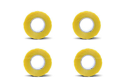 4 Yellow Rubber Silicone Repair Waterproof Bondingtape Rescue Self Fusing Wire