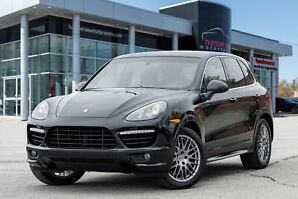 2012 Porsche Cayenne Turbo 27000KMS!  NAV PANO ROOF LEATHER REAR TV