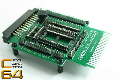 Faszination C64 | Test-/Breadboard Commodore 64 Userport & Expansionport | #1990