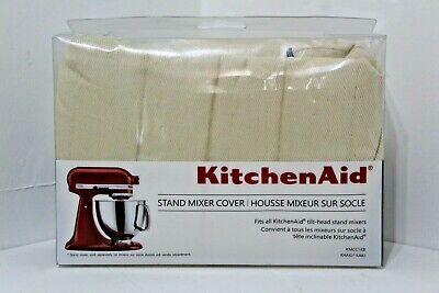 Genuine KitchenAid Tilt-Head Stand Kitchen Mixer Dust Cover Khaki/Beige/Lt Brown