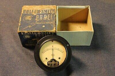 Wwii Us Navy Roller Smith Potentiometer W Box 3.5 Inch