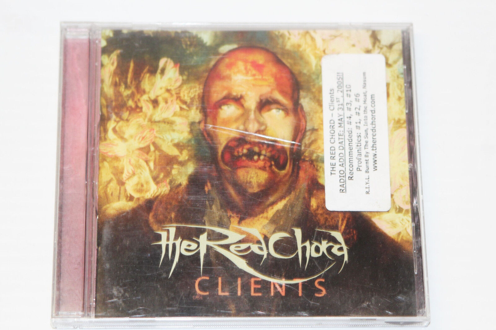Clients by The Red Chord (Promo Music CD, May-2005, Metal Blade Records)