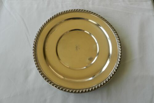 Vintage Wallace Sterling Silver Serving Tray    *Halifax Pattern*    *508 Grams*