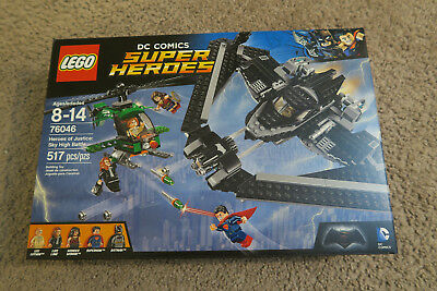LEGO 76046 DC Comics Super Heroes of Justice Sky High Battle  Brand New