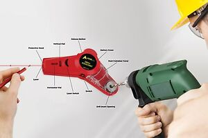 AdirPro Drill Buddy Cordless Dust Collector with Laser Level and Bubble Vial