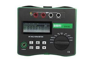 Ohmmeter Good Measurements And A High Low : Micro ohm meter amp for rent kennards hire